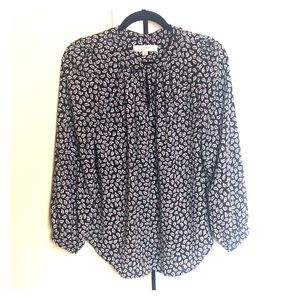 Perfect!  Loft Flowy Keyhole Blouse